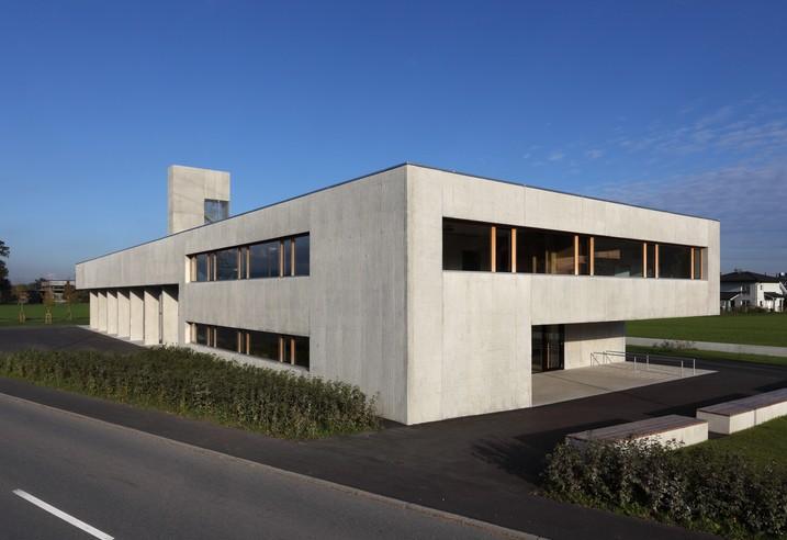 hein architekten feuerwehrhaus wolfurt bregenz sterreich. Black Bedroom Furniture Sets. Home Design Ideas